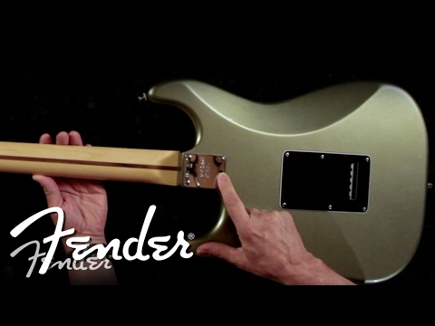 Fender University: Micro-Tilt™ Feature