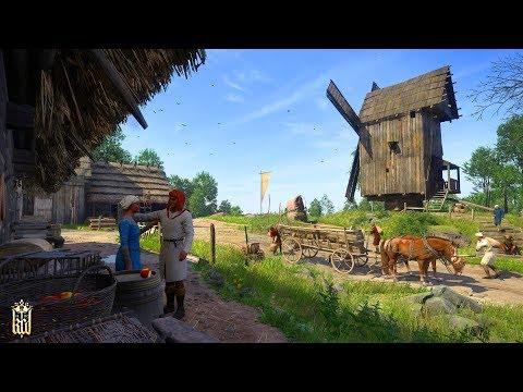 Самая лучшая графика за всю историю игр. Kingdom Come Deliverance - симулятор средневековья