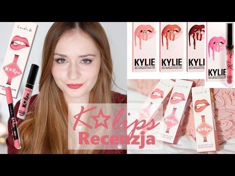 K✩lips Lovely | Test, Recenzja, Swatche Kolorów | Porównanie Do Kylie Lip Kit | K'lips
