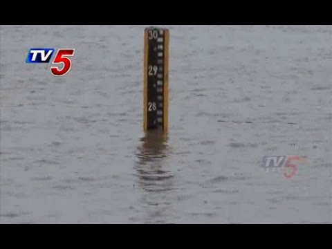 Godavari water Heavy Inflows in Khammam : TV5 News