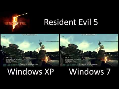 Windows XP vs. Windows 7 - Gaming Performance Comparison