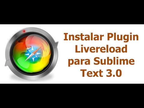 Instalar plugin Livereload para Sublime Text 3.0