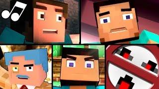 ♪ Top 5 Minecraft Parody Music Videos - Best Songs ♪