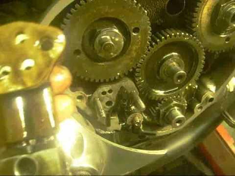 Triumph T120R Crank shaft Oil seal change. part 2