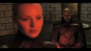 Exclusive! Legend of the Seeker Scene NEW! With Mistress Denna