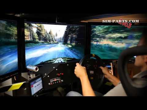 Motion Simulator - Dirt 3 - Eyefinity