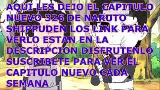 naruto shippuden 326 sub español completo