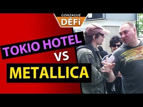 image vidéo  GonzagueTV : Distribuer des flyers de Tokio Hotel au concert de Metallica