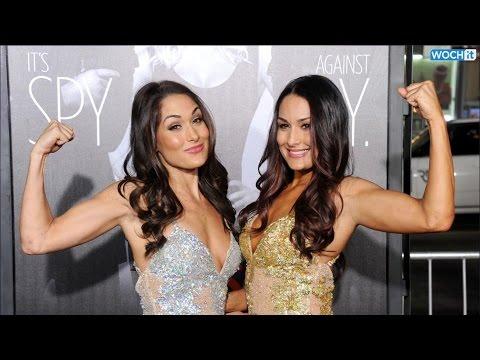 Total Divas' Nikki Bella Suffers Nip Slip While Defending Sister Brie Bella On Wwe Raw video