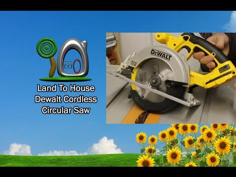 DeWalt Cordless Circular Saw Review