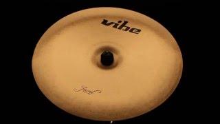 """Vibe Jewel Traditional China Cymbal 16"""""""