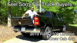 2019 RAM 1500 Laramie Review - I Feel Sorry for Truck Buyers