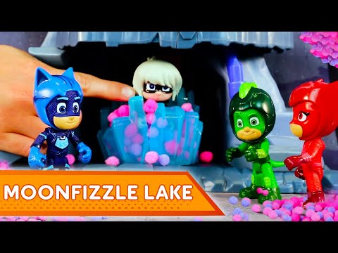PJ Masks Toys Full Episodes ⭐️Moonfizzle Lake ⭐️PJ Masks Toys | Episode 3 | Play with PJ Masks