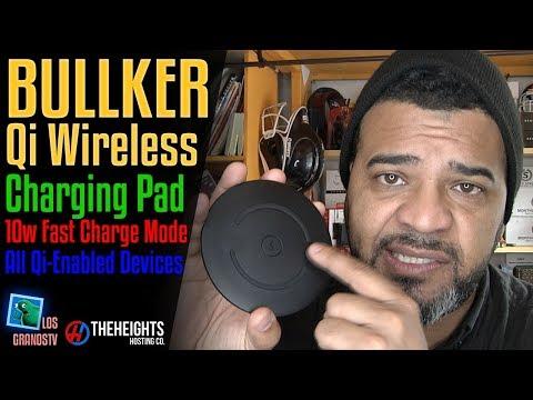 Bullker Qi Fast Wireless 10W Charging Pad ⚡ : LGTV Review