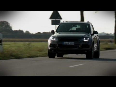 VW Touareg R-Line - Tuning von JE Design - YouTube