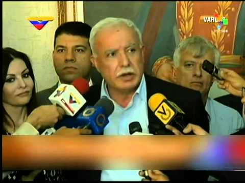 Palestinian Foreign Minister in Visit to Venezuela