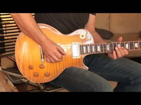 2012 Gibson Les Paul 1959 Reissue Custom Shop Part1