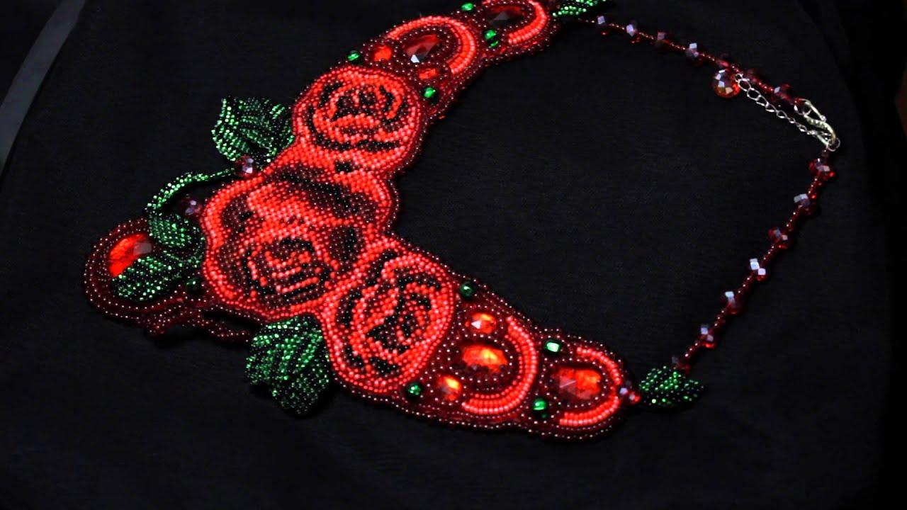 Схемы плетения бисером, цветы и