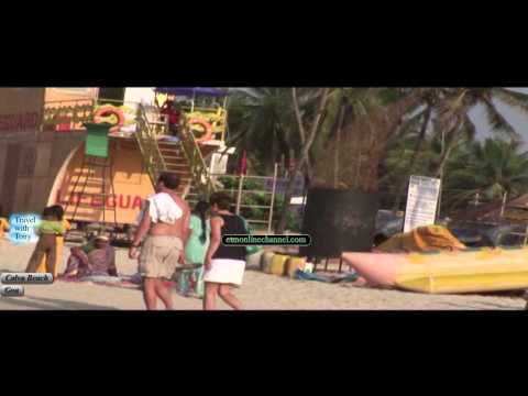 COLVA BEACH | SOUTH GOA | TOURISTS | FOREIGNERS | TRAVEL TV