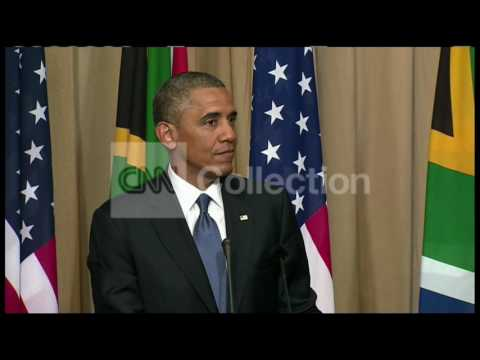 SOUTH AFRICA: OBAMA - U.S. TRADE WITH AFRICA