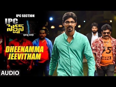 Dheenamma Jeevitham Full Audio Song | IPC Section | Sarraschandra,Neha Deshpande