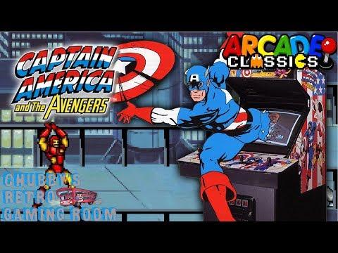 Chubby's Retro Gaming Room-Captain America The Avengers-Arcade.