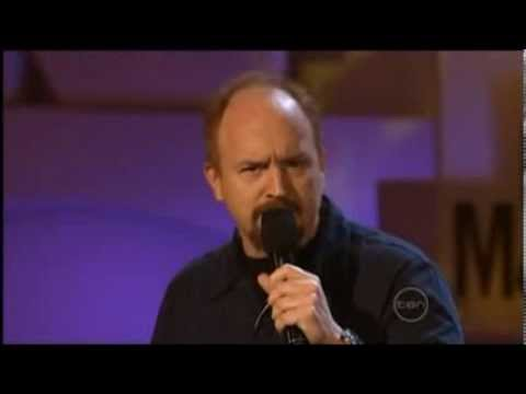 Louis CK - Contemporary Perceptions about Aviation and Pilots in the USA (Comedy)