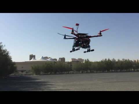 Solar powered quadcopter in kuwait
