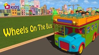 Wheels On The Bus   English Nursery Rhymes For Kids