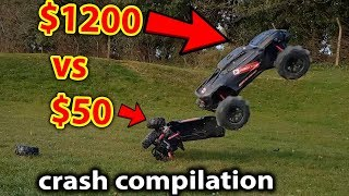 Kev's RC Car Crash & Bash Compilation VOL 1