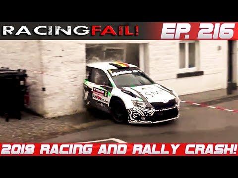 Racing and Rally Crash Compilation 2019 Week 216