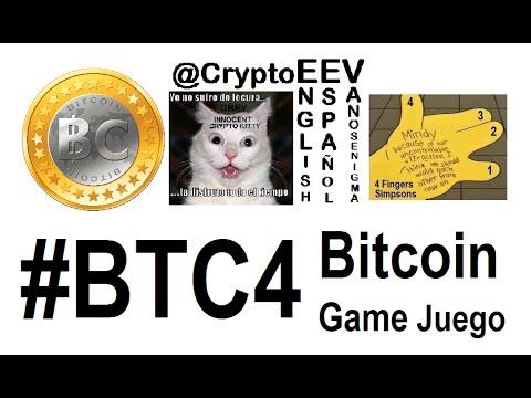 #BTC4 Bitcoin Español Deutsch English CryptoCurrency Game Juego Innovation IT VideoMix Ger