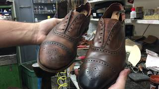 Allen Edmonds Shoe Restoration - Bedo's Leatherworks