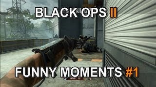 Black Ops 2 Funny Moments (Weed, Another Youtuber, & Silent Shot!!!)