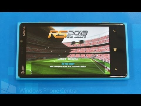 Real Soccer 2013 - Xbox Windows Phone 8 Review