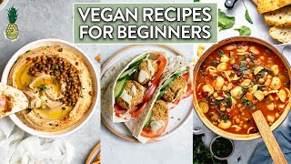 Making Recipes We Ate When We First Went Vegan | Recipes for Beginner Vegans