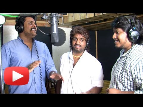 Sufi Song Recording With Amitraj & Adarsh Shinde - Pyaar Vali Love Story - Marathi Movie video