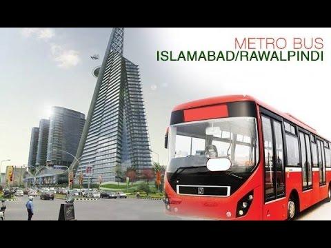 Rawalpindi/Islamabad Metro Bus Tour  Amazing Project