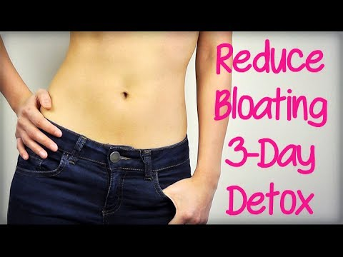 Reduce Bloating: 3-Day Detox Plan