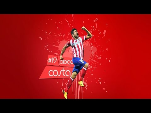 Diego Costa | Atlético Madrid | Amazing Goals & Skills