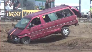 Tuff Ford Aerostar mini-van @ Clark County Fair 2016