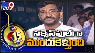Somireddy Chandramohan Reddy wishes to for successfully completing 15 years
