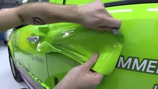 Chitown Car Wraps 2015 Green Vehicle Wrap Demo