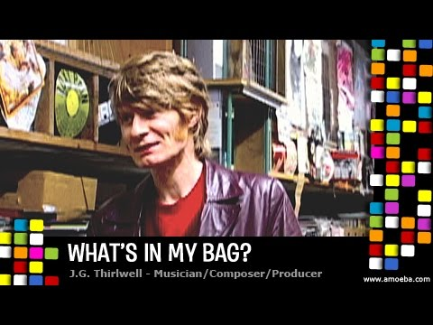 JG Thirlwell - What's In My Bag?