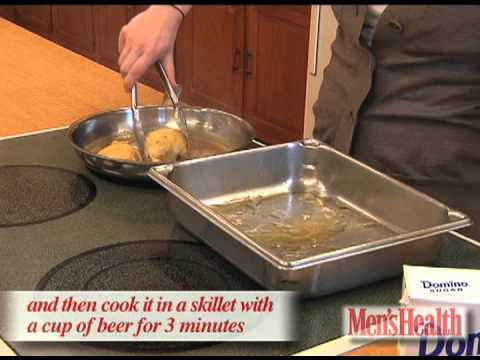 How to Cook With Beer &#8211; Men&#8217;s Health Minute