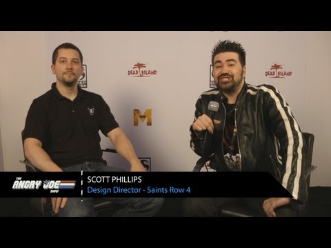 Saints Row 4 - AJ Interviews