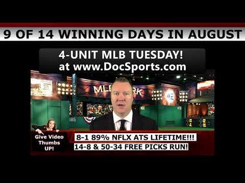14-8 FREE SPORTS PICKS RUN! – Expert MLB Baseball Predictions August 15th Vernon Croy