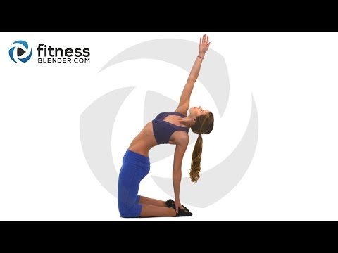 Bodyweight Only Fat Burning Hiit Cardio Workout + Total Body Toning: Fitness Blender Blend video