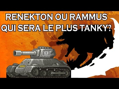 BO MASTER! - Renekton ou Rammus, qui sera le plus gros tank? - Ranked de Bisou