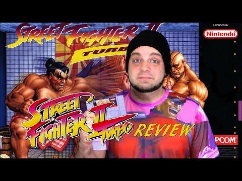 Street Fighter II Turbo SNES Review - Street Fighter on SNES Week | RGT 85